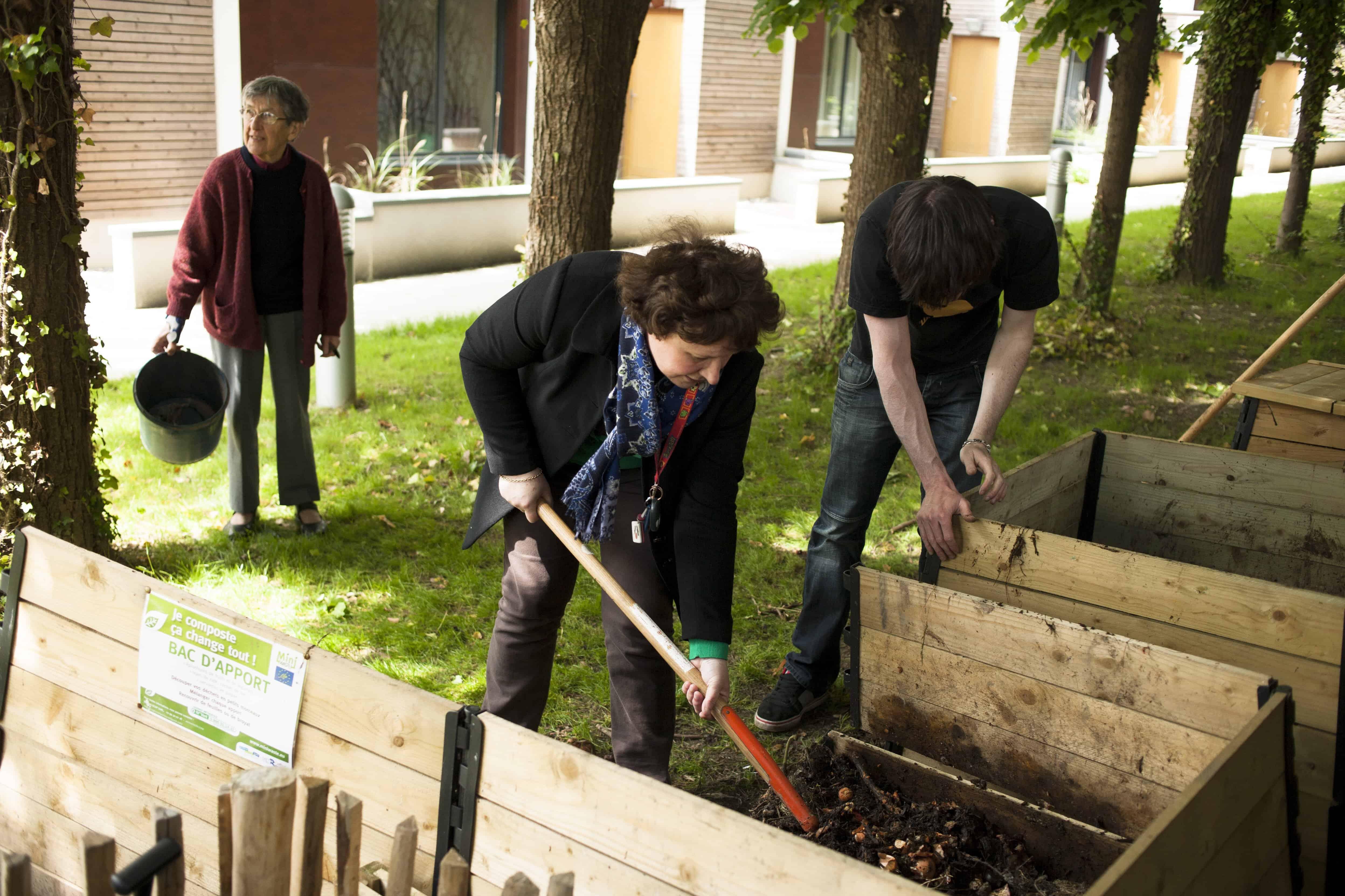 B n vole jardinier habitat et humanisme for Jardinier belgique