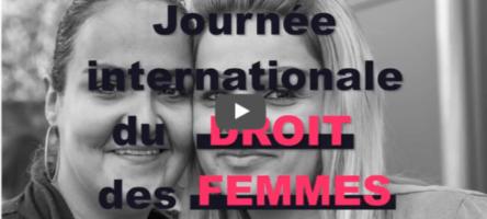Journee internationale du droit des femmes