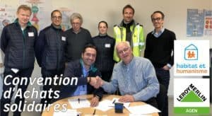 Signature Convention Achats Solidaires LM Agen HH MP