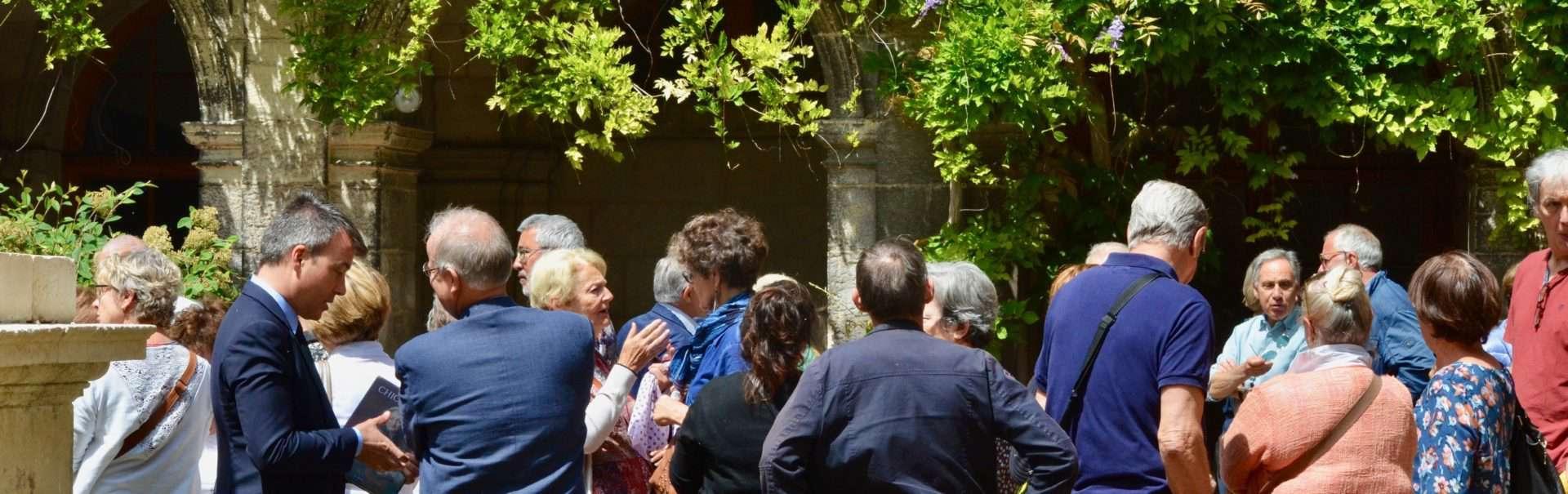 21 Juin 2019 B Devert Lance Les Travaux Au Couvent Des Augustins