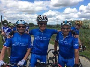 Cyclistes Axa