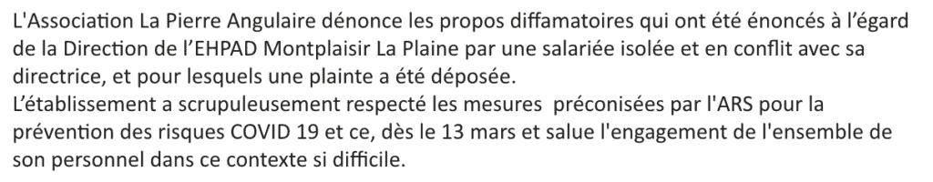 Ehpad Montplaisir