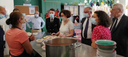 Emmanuelle Wargon, ministre du Logement, en visite à Lyon