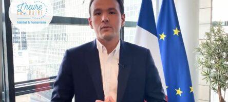 Cédric O,  secrétaire d'Etat chargé de la transition numérique salue l'Heure Solidaire