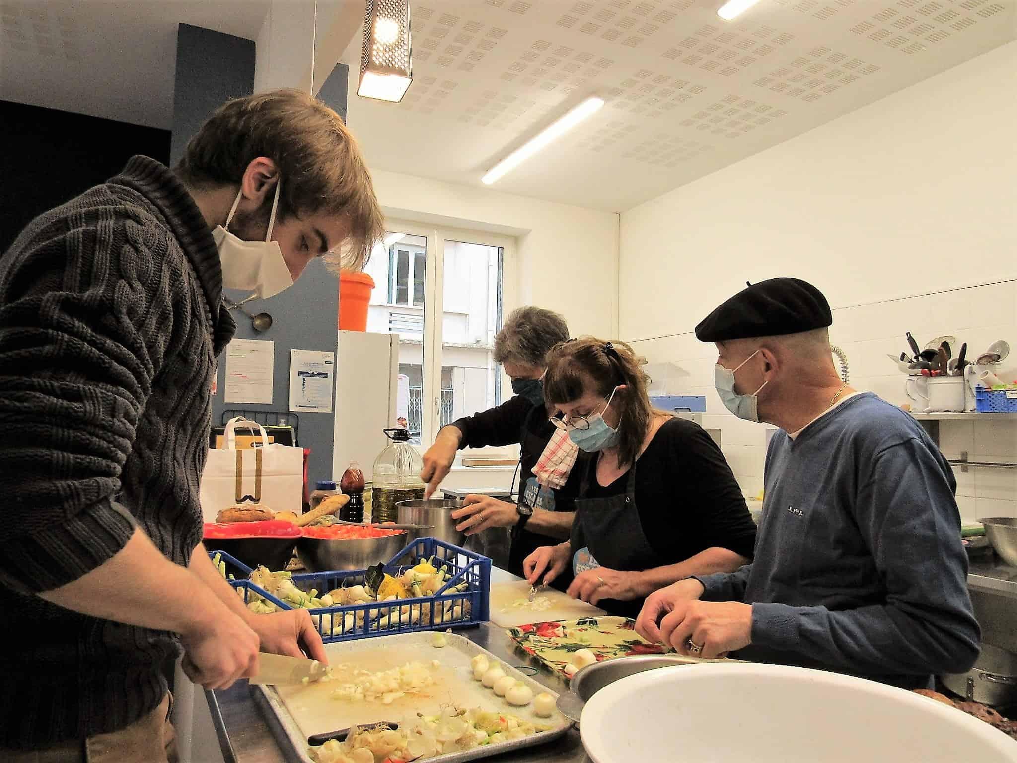 Atelier cuisine participative