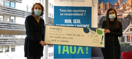 Remise Chèque Don De 33 000 Euros à H&h