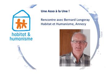 Screenshot 2021 02 06 Une Asso à La Une , Rencontre Avec Bernard Longeray, Habitat Humanisme Annecy