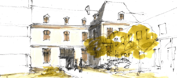 Autun Hopital Saint Gabriel Architecture