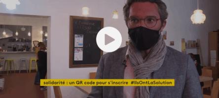 À Lyon, un QR Code pour proposer des ateliers aux habitants les plus isolés et démunis