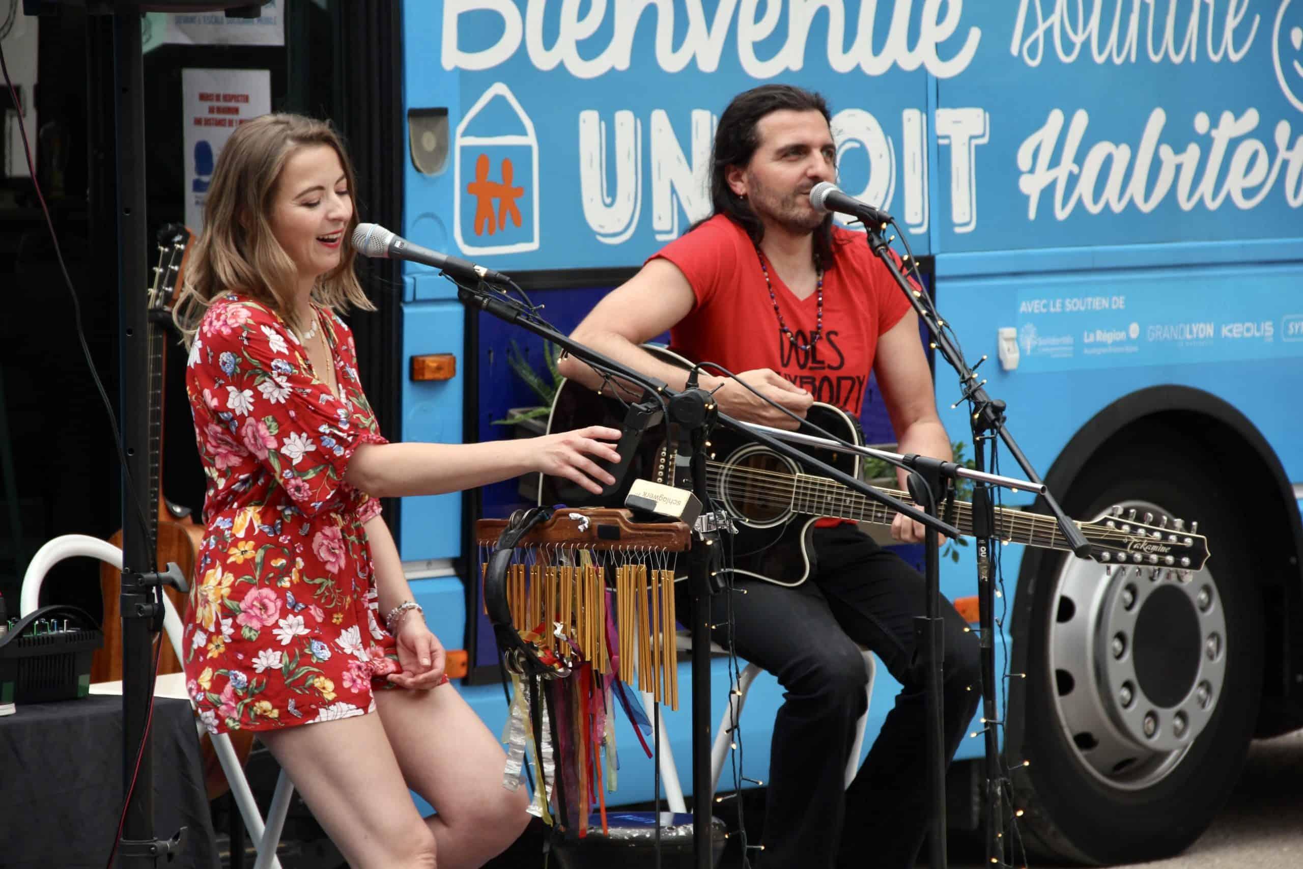 Concert de musique participatif avec Franky & Mary