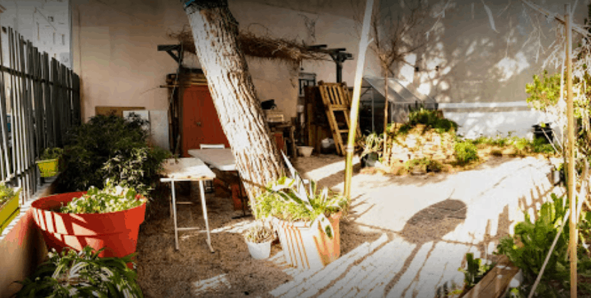 Goûter partagé au jardin la Pinède
