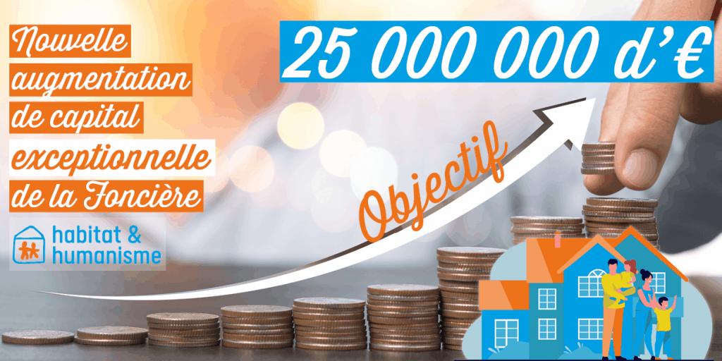 Augmentation De Capital 25 000 000 €