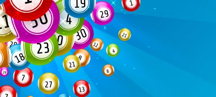 Lottery Game, Balls With Numbers